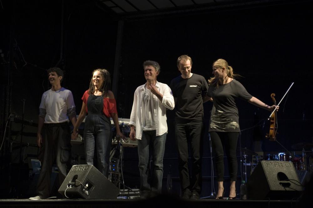 wortfront live 2011 im Wiener Prater